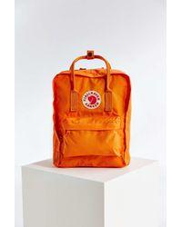 Fjallraven | Orange Kanken Backpack | Lyst