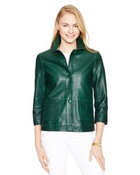 kate spade new york | Green Alivia Jacket | Lyst