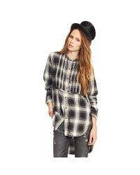 Denim & Supply Ralph Lauren - Gray Plaid Tuxedo Shirt - Lyst