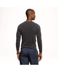 J.Crew - Black Preorder Slim Lightweight Crewneck Sweatshirt for Men - Lyst