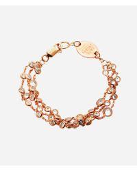 Henri Bendel - Pink Luxe Uptown 3-row Bracelet - Lyst