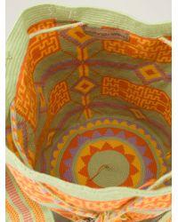 Muzungu Sisters - Green 'Wayuu Mochila' Shoulder Bag - Lyst