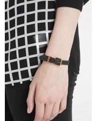 Marc By Marc Jacobs | Rubber Bandz Black Bracelet | Lyst