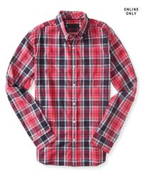 Aéropostale | Pink Long Sleeve Core Plaid Woven Shirt | Lyst
