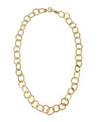 Stephanie Kantis | Metallic Oval & Round Link Long Necklace | Lyst
