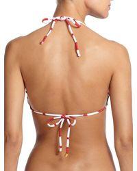 ViX - Red Desert Ripple Bikini Top - Lyst
