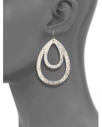 Stephanie Kantis   Metallic Paris Double Teardrop Earrings   Lyst