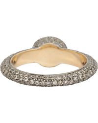 Munnu | White Diamond Ring | Lyst