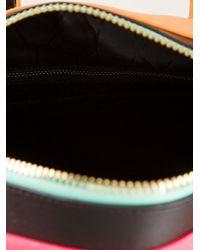 KENZO - Pink Branded Cotton Shoulder Bag - Lyst