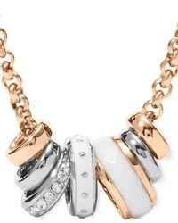 Fossil | Pink Jf01122998 Womens Necklace | Lyst