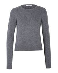 Dorothee Schumacher - Gray Ecstatic Ease Pullover O-neck 1/1 - Lyst