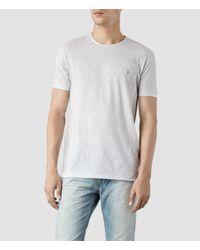 AllSaints | Gray Lunar Tonic Crew T-Shirt for Men | Lyst