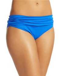 La Blanca | Blue Core Solids Hipster Bottoms | Lyst
