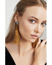 BCBGMAXAZRIA - Multicolor Rope Tassel Earring - Lyst