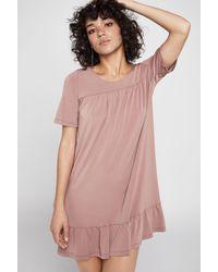 BCBGeneration - Pink Short-sleeve Tent Dress - Lyst