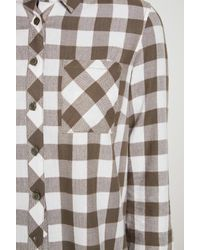 BCBGeneration - Multicolor Gingham Plaid Button-down Shirt - Lyst