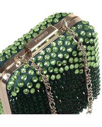Pinko - Green Clutch - Lyst