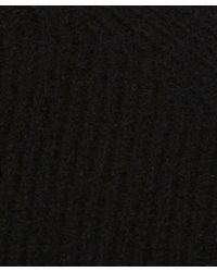 YMC - Black Wool-cashmere Knitted Jumper for Men - Lyst
