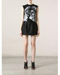 Stella McCartney - Black Lion Print T-Shirt - Lyst