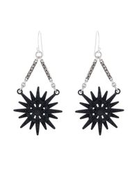 Lulu Frost | Black Radiant Earrings | Lyst