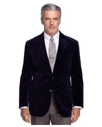 Brooks Brothers - Blue Madison Fit Corduroy Sport Coat for Men - Lyst