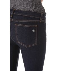 Rag & Bone - Blue Capri Pants - Lyst