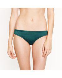 J.Crew - Green Tulle Bikini - Lyst