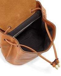 Rag & Bone - Brown Mini Pilot Leather Backpack - Lyst