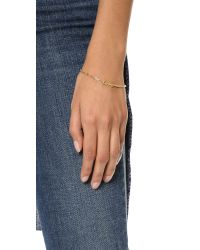 Jennifer Zeuner - Metallic Love Bracelet - Lyst