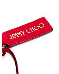 Jimmy Choo | Red Fringed Charm | Lyst