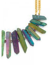 BaubleBar | Multicolor Rainbow Rock Bib | Lyst