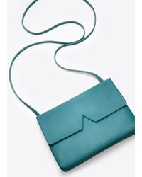 Vince - Green Signature Collection Baby Crossbody - Lyst