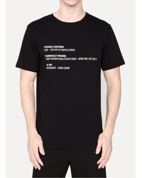 Yang Li - Black Show Music T-shirt for Men - Lyst