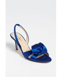kate spade new york | Blue 'madison' Sandal | Lyst