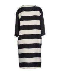 By Malene Birger - White Short Dress - Lyst
