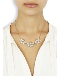 Anton Heunis | Metallic Gold Plated Triple Cluster Necklace | Lyst