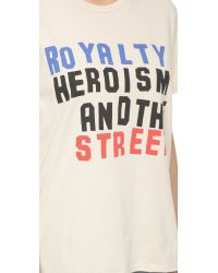 Ksubi - Royalty Tee - Dirty White - Lyst