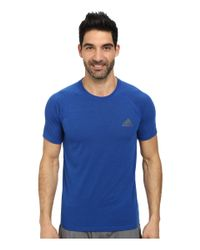 Adidas Originals | Blue Ultimate S/s Crew Tee for Men | Lyst