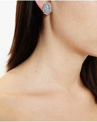 Kimberly Mcdonald - Blue Aquamarine And Diamond Stud Earrings - Lyst