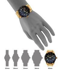 Nixon - Metallic Diplomat Stainless Steel Watch - Lyst