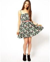 Jarlo - Black Felicia Floral Dress - Lyst