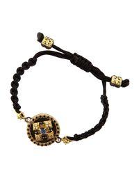 Armenta - Black Diamond Cravelli & Kyanite/White Quartz Rope Bracelet - Lyst