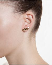 Maria Black | Metallic 18k Yellow Gold Wing Earring | Lyst