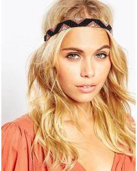 ASOS - Multicolor Easy Beaded Headband - Lyst
