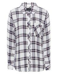 Rails - Black Hunter Plaid Flannel Shirt - Lyst