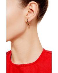 Genevieve Jones | Metallic Classic Wishing Safety Pin Earring | Lyst