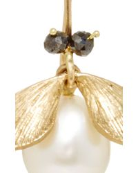 Annette Ferdinandsen | Metallic Jeweled Bug Earrings | Lyst