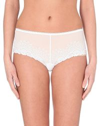 Wacoal | White Lovely Boxer Briefs | Lyst