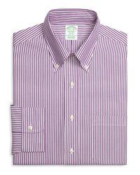 Brooks Brothers | Purple Regent Fit Bengal Stripe Dress Shirt for Men | Lyst