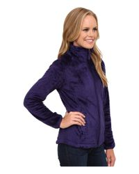 The North Face - Purple Osito 2 Jacket - Lyst